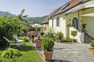 Landhaus Smöch - Unsere Terrasse